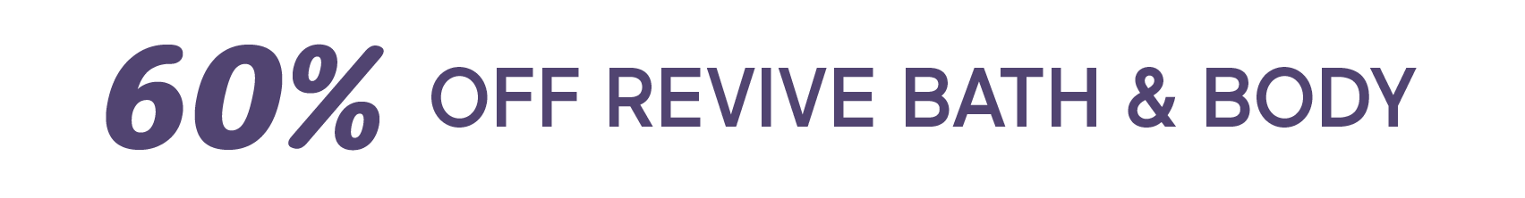 Revive Sale
