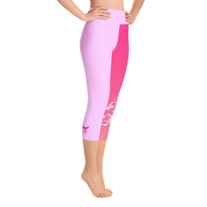 Women's Active Comfort Sport Lily Capri Leggings-Find-Your-Coast Apparel-Mercantile Americana