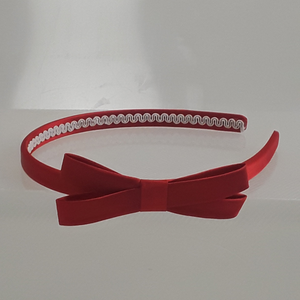 1/4 Inch Wide Headband with Bow-ProductPro-Mercantile Americana