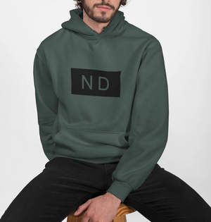 Mens Street Style ND Hooded Sweatshirt