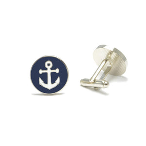 Anchor Cufflinks-SummerTies-Mercantile Americana