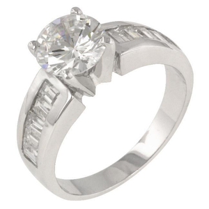 Antoinette Silver Engagement Ring-ProductPro-Mercantile Americana