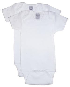 Bambini 2 Pack One Piece White Variety Pack-Bambini Infant Wear-Mercantile Americana