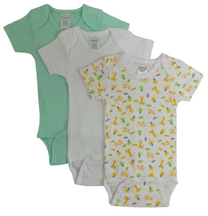 Bambini Boy's Printed Short Sleeve Variety Pack-Bambini Infant Wear-Mercantile Americana