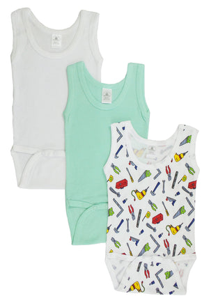 Bambini Boy's Printed Tank Top-Bambini Infant Wear-Mercantile Americana