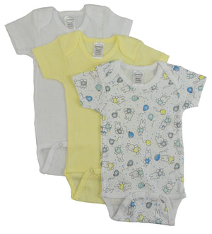 Bambini Girl's Printed Short Sleeve Variety Pack-Bambini Infant Wear-Mercantile Americana