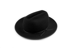 Black Western Dress Hat-QP Collections-Mercantile Americana