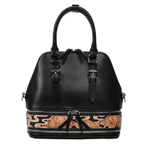 Cloud Black Small Satchel-Bellorita-Mercantile Americana