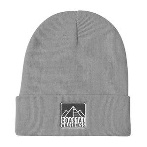 Coastal Wilderness Stencil Knit Beanie-Coastal Wilderness-Mercantile Americana
