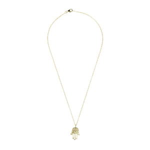 Cosmic Hamsa Necklace-LATELITA LONDON-Mercantile Americana