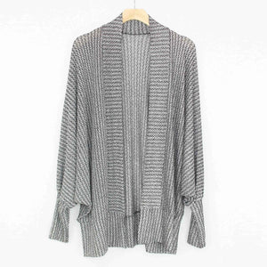 Dolman Sleeve Open Front Cardigan-Stylespect-Mercantile Americana