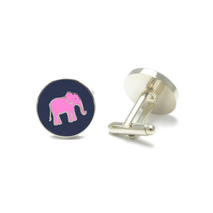 Elephant Cufflinks-SummerTies-Mercantile Americana
