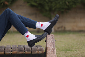 Fashionable Blocks Socks-Socks n Socks-Mercantile Americana