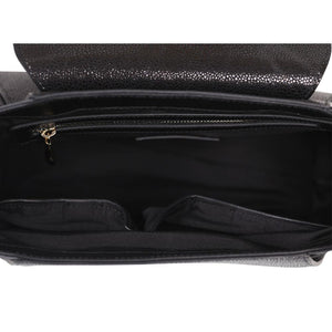 Fish Small Black Satchel-Bellorita-Mercantile Americana