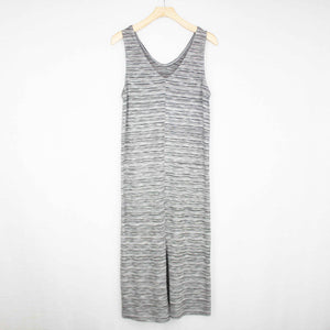 Front Slit V-Neck Dress-Stylespect-Mercantile Americana