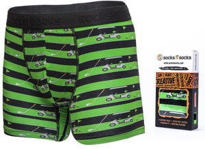 Golf Boxer Brief-Socks n Socks-Mercantile Americana