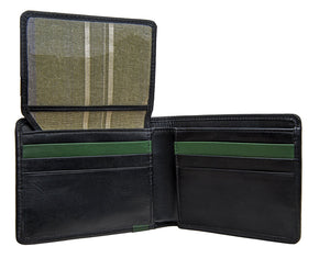Hidesign Dylan 05 Leather Multi-Compartment Trifold Wallet-Hidesign-Mercantile Americana