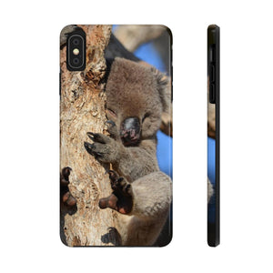 I'm Sleepy! - Case Mate Tough Phone Cases-Printify-Mercantile Americana