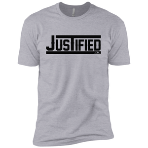 JUSTIFIED Premium Short Sleeve T-Shirt-ProductPro-Mercantile Americana