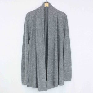 Long Sleeve Open Front Cardigan-Stylespect-Mercantile Americana