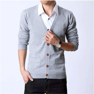 Men's Button Up Cardigan-ProductPro-Mercantile Americana