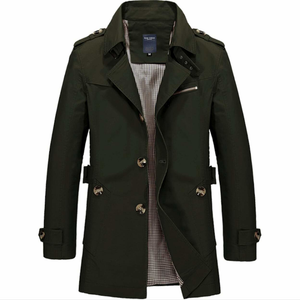 Men's Mid Length Trench-ProductPro-Mercantile Americana
