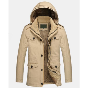 Men's Winter Hooded Military Style Coat-ProductPro-Mercantile Americana