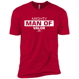 MIGHTY MAN OF VALOR Premium Short Sleeve T-Shirt-ProductPro-Mercantile Americana