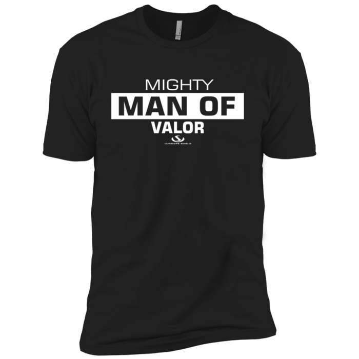 MIGHTY MAN OF VALOR Premium Short Sleeve T-Shirt