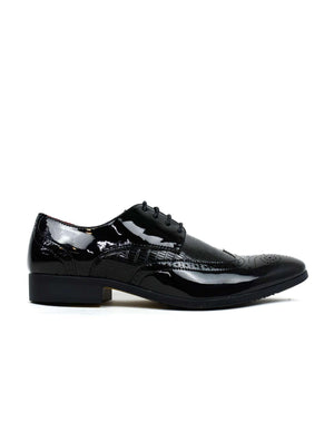MSH-7788 Black Pat-Beta Shoes Ltd.-Mercantile Americana
