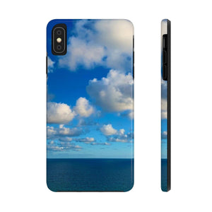 My Blue Heaven - Case Mate Tough Phone Cases-Printify-Mercantile Americana