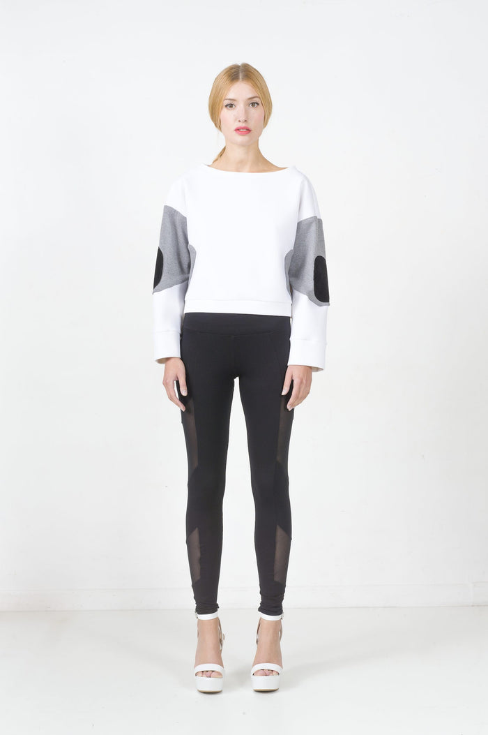 Neoprene sweater