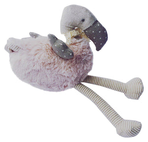 Plush Flamingo Toy-Little Ashkim-Mercantile Americana