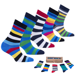 Popular Stripes Socks-Socks n Socks-Mercantile Americana