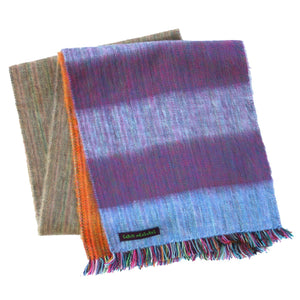 PURPLE HAZE ALPACA SCARF-Cabin Measures-Mercantile Americana
