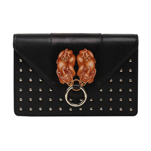 PX (PiXiu) Black Crossbody Clutch-Bellorita-Mercantile Americana