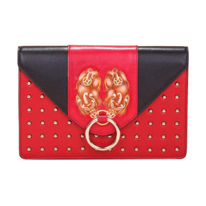 PX (PiXiu) Red Crossbody Clutch-Bellorita-Mercantile Americana