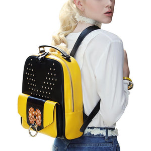 PX (PiXiu) Yellow Backpack-Bellorita-Mercantile Americana