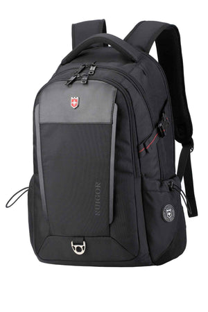 RUIGOR EXECUTIVE 26 Luxury Backpack Black-Swissruigor-Mercantile Americana