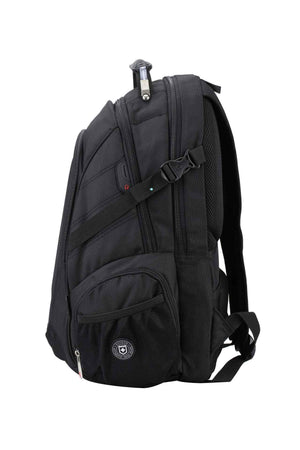 RUIGOR ICON 08 Laptop Backpack Black-Swissruigor-Mercantile Americana