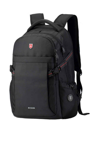 RUIGOR ICON 24 Laptop Backpack Black-Swissruigor-Mercantile Americana