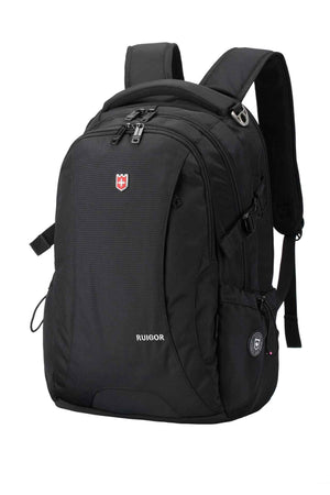 RUIGOR ICON 78 Laptop Backpack Black-Swissruigor-Mercantile Americana