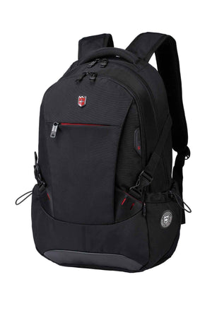 RUIGOR ICON 81 Laptop Backpack Black-Swissruigor-Mercantile Americana
