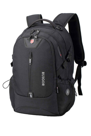 RUIGOR ICON 82 Laptop Backpack Black-Swissruigor-Mercantile Americana