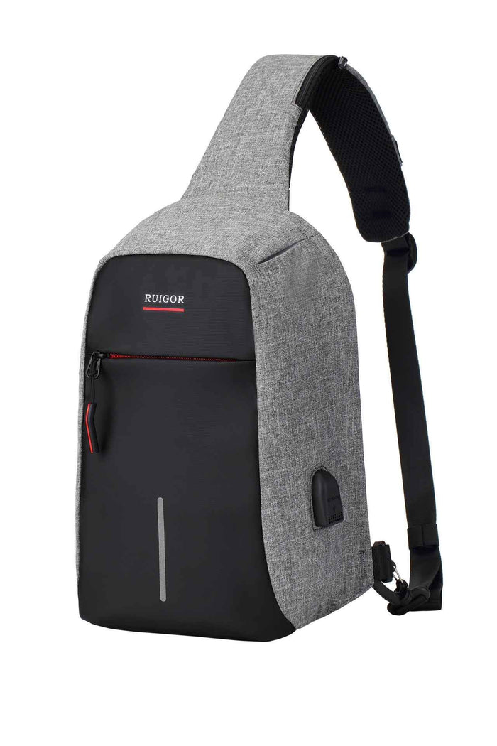 RUIGOR LINK 44 Slingbag Black-Grey