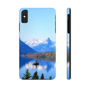 Saint Mary Lake - Case Mate Tough Phone Cases-Printify-Mercantile Americana