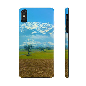 Snow Covered Peaks - Case Mate Tough Phone Cases-Printify-Mercantile Americana