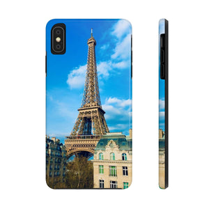 The Eiffel Tower - Case Mate Tough Phone Cases-Printify-Mercantile Americana