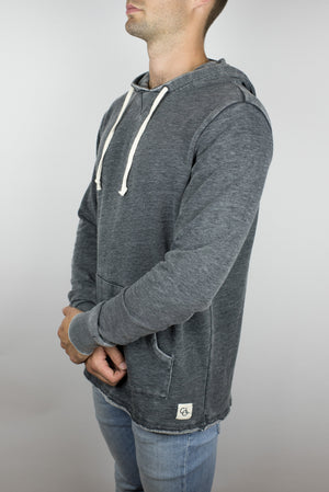 The Embers Terry Hoodie in Washed Black-Craft of Lyfe Clothing Inc-Mercantile Americana