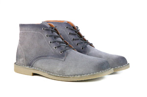 The Grover | Burnished Grey Suede-Hound & Hammer-Mercantile Americana